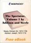 The Spectator, Volume 1 for MobiPocket Reader
