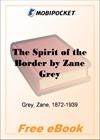 The Spirit of the Border for MobiPocket Reader