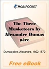 The Three Musketeers for MobiPocket Reader