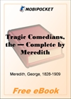 The Tragic Comedians - Complete for MobiPocket Reader
