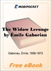 The Widow Lerouge for MobiPocket Reader