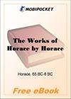 The Works of Horace for MobiPocket Reader