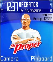 Mr Proper Theme