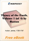 Theory of the Earth, Volume 1 for MobiPocket Reader