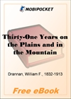 Thirty-One Years on the Plains and in the Mountains for MobiPocket Reader