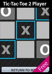 Tic-Tac-Toe 2 Player