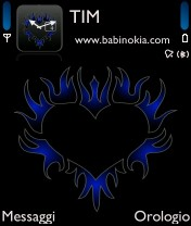 TRIBAL HEART BLU