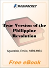 True Version of the Philippine Revolution for MobiPocket Reader