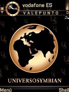 Universo Gold SVG Theme