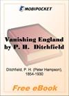 Vanishing England for MobiPocket Reader