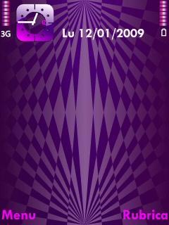 Violet Geometry Theme