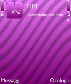 Violet Strips Theme