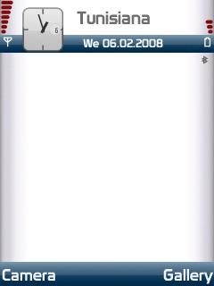 Vodafone Blue Bars SVG Theme