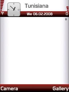 Vodafone Red Bars SVG Theme