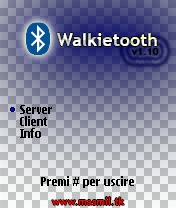 Walkietooth