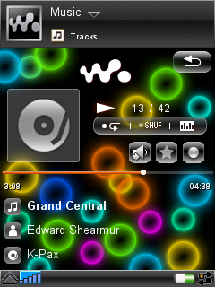 Walkman Pack 3 Theme for GDesk (UIQ)