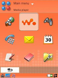 Walkman Pack Theme for GDesk (UIQ)