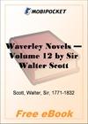 Waverley Novels - Volume 12 for MobiPocket Reader