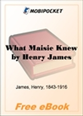 What Maisie Knew for MobiPocket Reader