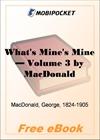 What's Mine's Mine - Volume 3 for MobiPocket Reader