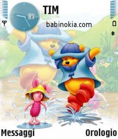 Winnie Pooh Theme for Nokia N70/N90