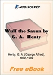 Wulf the Saxon for MobiPocket Reader