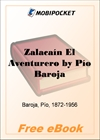 Zalacain El Aventurero for MobiPocket Reader