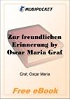 Zur freundlichen Erinnerung for MobiPocket Reader