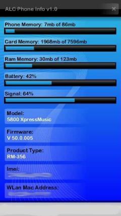 ALC Phone Info
