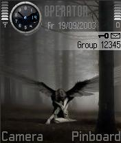 Alone Angel Emo