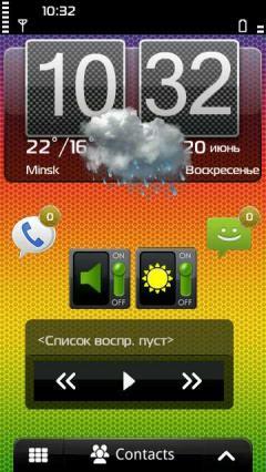 Android Menu for Nokia 5230 / 5232 / 5233 Nuron Free Download