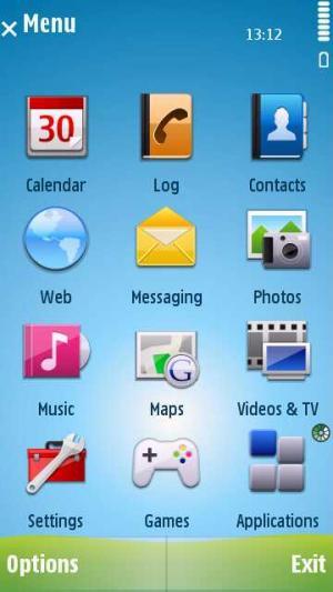 Android Style for Nokia N8-00 (Nokia Vasco) Free Download