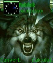 Angry Wolf Animated