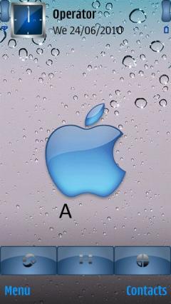 Animated Apple Miror