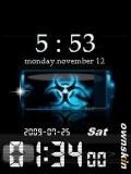 animated bateery timer clock
