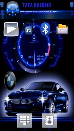Animated Car N Clock