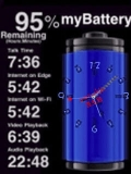 ANIMATED CLOCK BATTERY