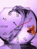 Animated Fish Clock