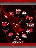 animated love clock