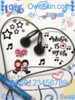 Animated Music Life