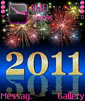Animated New Year