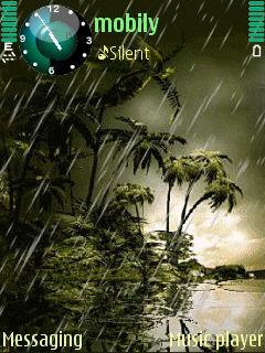 Animated Rainfall
