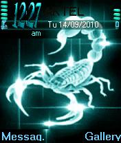 Animated Scorpian