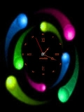 Animated SCREENSAVER CLOCK neon