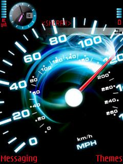 Animated Speed Meter