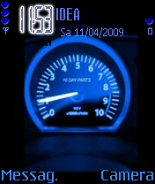 Animated Speedometer