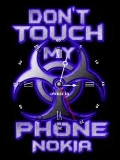 Animated touch my phone