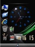 animated windows vista clock