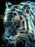 anumated tiger