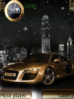 Audi R8 Golden